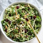 Creamy Broccoli Slaw - The Real Food Dietitians