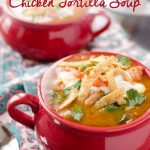 Hearty Chicken Tortilla Soup with Sweet Potato
