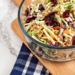 Cranberry Crunch Broccoli Slaw   Nutrition to Fit