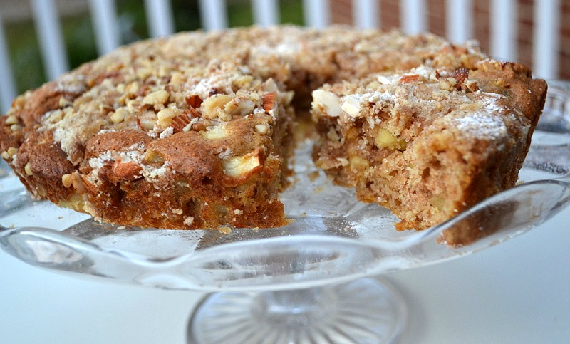 Low Fat Apple Cake | The Realistic Nutritionist