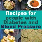 Recipes for people with Diabetes and Blood Pressure, Tarla Dalal