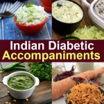 Indian Accompaniments for Diabetics, Side Dishes