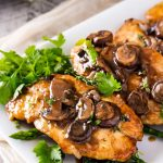 Easy Chicken Marsala (30 Minute Meal) - The Chunky Chef