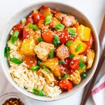 Lighter Sweet and Sour Chicken Recipe   Little Spice Jar