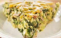 Crustless Spinach Pie With Feta Cheese - Real Greek Recipes