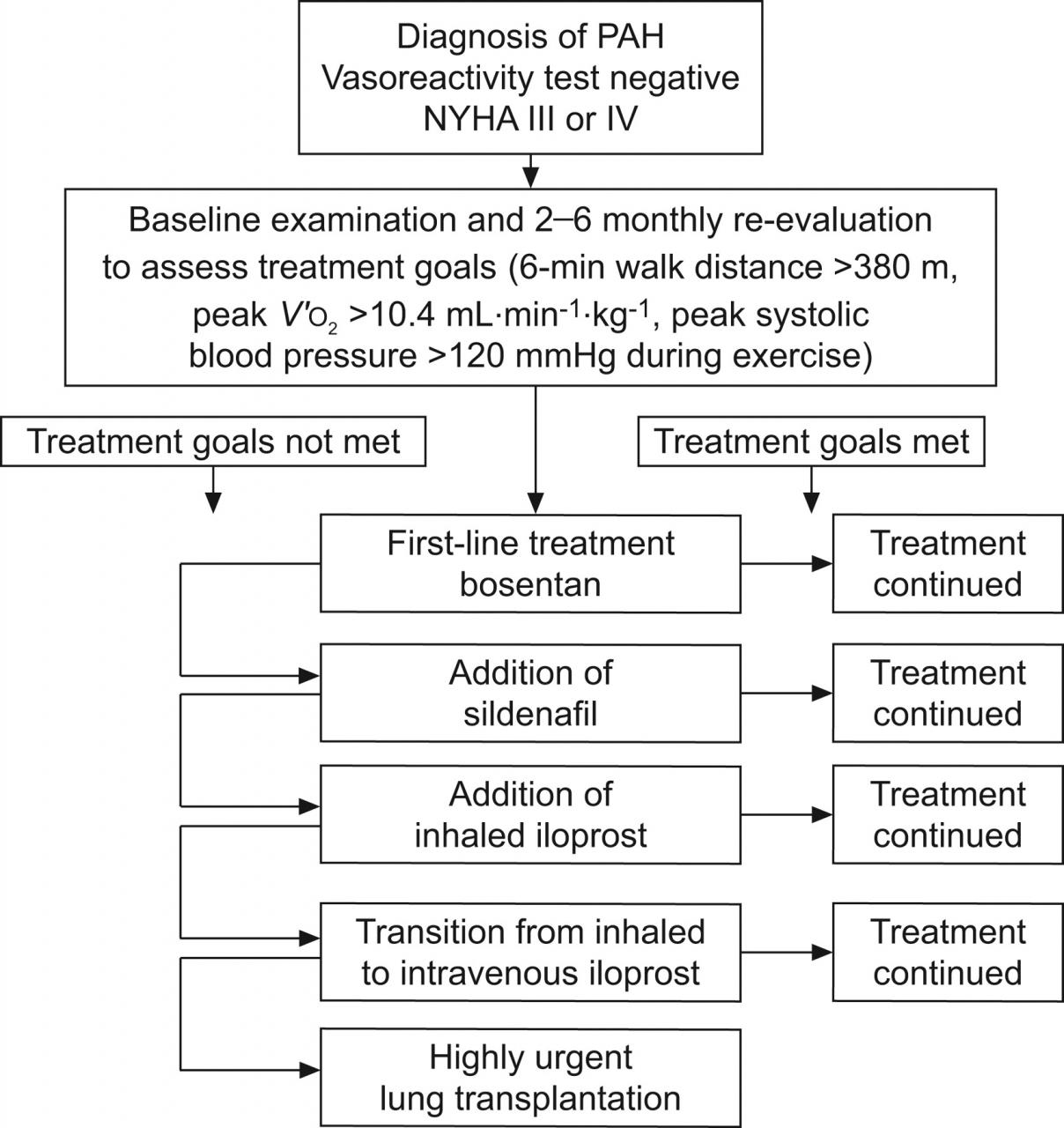 Treat-to-target strategies in pulmonary arterial hypertension: the  importance of using multiple goals | European Respiratory Society