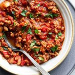 Instant Pot Turkey Chili (Keto, Low Carb) - Savory Tooth