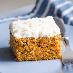 Healthy Carrot Cake - The Best EASY Recipe!