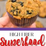 High Fiber Muffins (Packed with Superfoods!) | Far From Normal