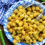 From the Menu: Whole Fried Okra from Marlow's Tavern