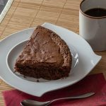Healthier Chocolate Cake - no sugar, butter or oil in this cake!