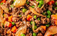Easy Keto Ground Beef Recipe with Worcestershire | I Heart Umami®