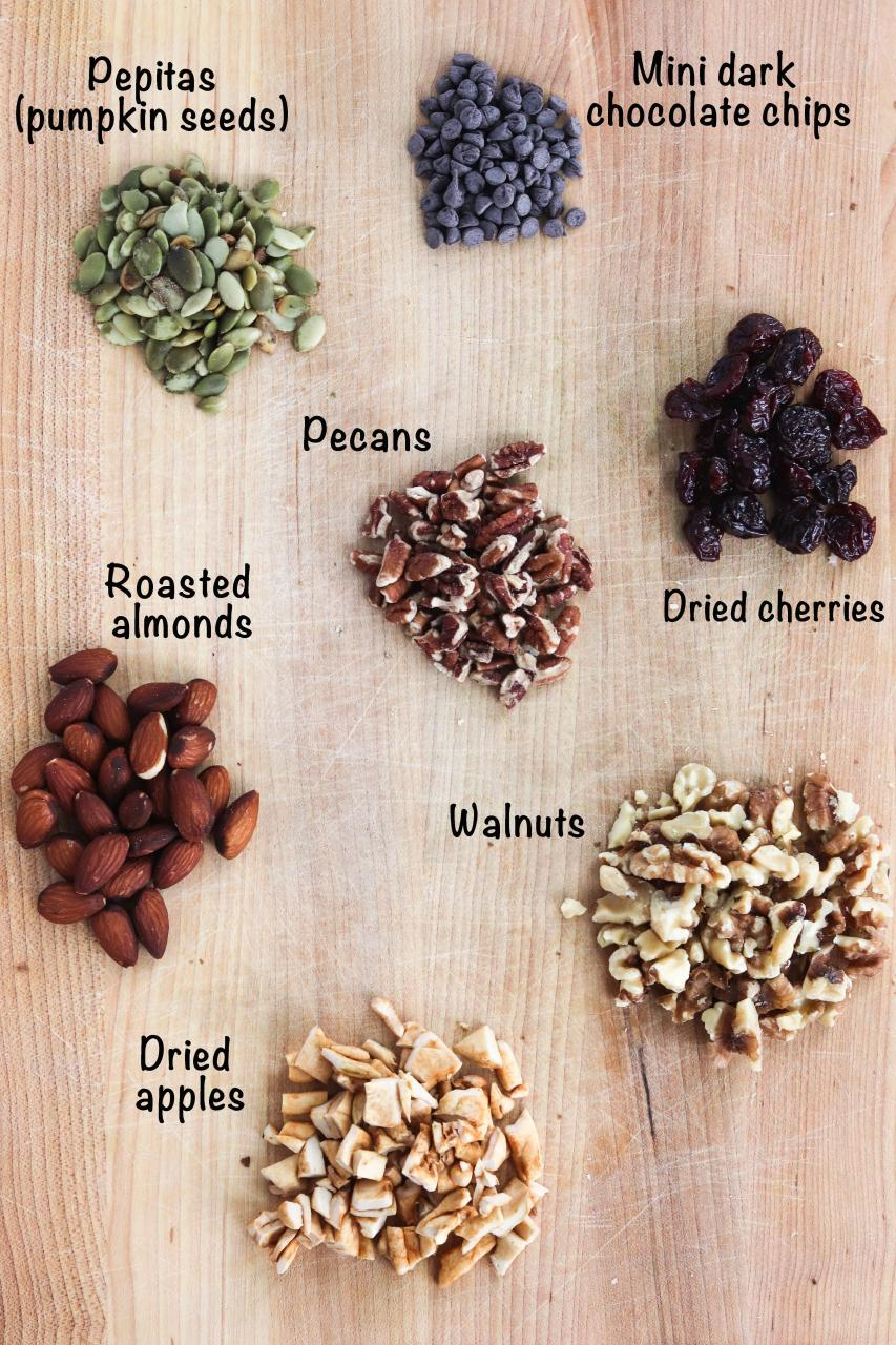 Heart Healthy Trail Mix | Meals with Maggie