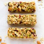Sugar Free Low Carb Granola Bars with Chocolate Chips | Low Carb Maven