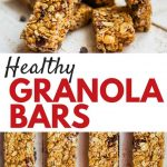 22 Healthy Homemade Granola Bars You Need to Survive Your day — Eatwell101