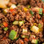30-Minute Vegetable and Ground Beef Skillet - The Roasted Root
