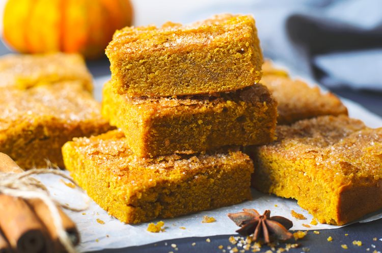 Fitness Blog - Healthy and Easy 4-Ingredient No-Bake Pumpkin Bars |  Jazzercise