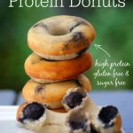 Southern In Law: Recipe: Healthy Baked Blueberry Protein Donuts