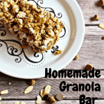 Homemade Granola Bar Recipe with Popcorn: Weight Watchers Friendly -  Housewives of Frederick County