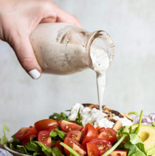 Homemade Ranch Dressing (Keto + Low Carb!) - Little Pine Kitchen