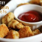 HEALTHY Baked Chicken Nuggets - Chef in Training