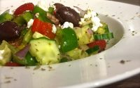 Low Fat Greek Salad Plus Protein | Fitness and Fuel |