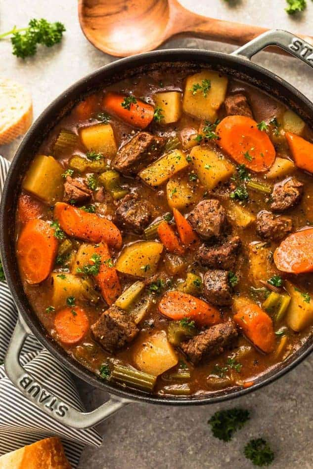Instant Pot Beef Stew - A Healthy and Hearty Slow Cooker Stew Recipe