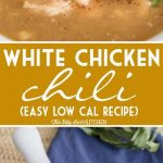 Easy White Chicken Chili Recipe {4 beans}   Healthy Fitness Meals