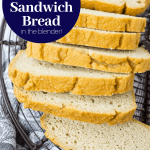 Low Carb Bread (Gluten Free and Paleo Sandwich Bread Made in the Blender!)  | A Clean Bake