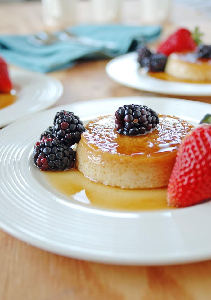 Easy Keto Flan- Just 4 ingredients! - The Big Man's World ®