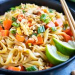 Easy Pad Thai Recipe (in under 30 minutes!) - Evolving Table