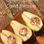 Pears With Cream Cheese And Pecans - Feeding Your Fam
