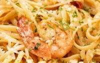 Shrimp Scampi with Zoodles | FeelGoodFoodie