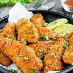 Skinny Oven Fried Chicken - Mommy's Home Cooking