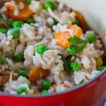 Crock Pot Chicken and Rice Recipe | Easy Healthy Dinner