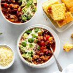 Slow Cooker Turkey Chili {Healthy} - Two Peas & Their Pod