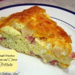 Weight Watchers Ham and Cheese Frittata - Whats Cooking Love?