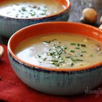 HEALTHY MUSHROOM SOUP   This flavorful Healthy Mushroom Soup is full of  vegetables with a lig…   Chicken broth recipes, Mushroom soup recipes, Mushroom  soup healthy