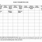 Diabetic Food Journal Template New 7 Best Of 7 Day Diabetic Food Log  Printable   Food journal template, Meal planning template, Diabetic meal  plan