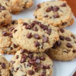Soft-Baked Almond Flour Chocolate Chip Cookies - Kitchen Treaty Recipes