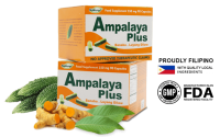 Ampalaya Plus - Bitter Gourd for Diabetics to Control & Lower Sugar Levels