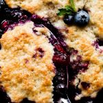 Easy Low Carb Blueberry Cobbler (Gluten-Free)   Low Carb Yum