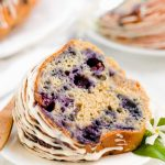 Low-Fat Blueberry Bread - Spoonful of Kindness