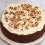 Healthy Carrot Cake  light, weight watchers friendly - Food Meanderings