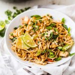 Healthy Chicken Pad Thai Recipe | What Molly Made