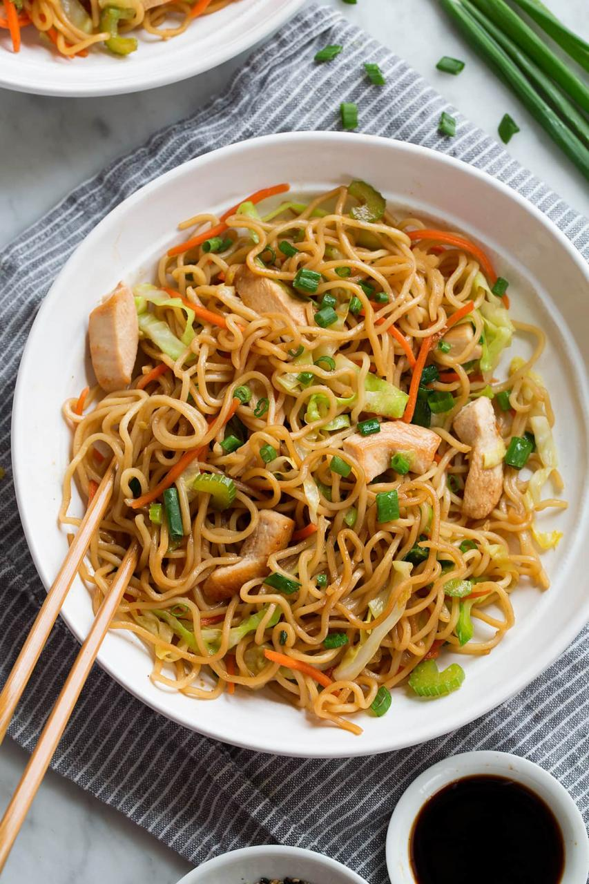 Chicken Chow Mein Recipe - Cooking Classy