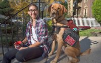 For Penn student, cardiac service dog is a life-changer
