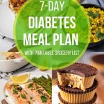 7 -Day Diabetes Meal Plan (with Printable Grocery List)   Diabetes Strong