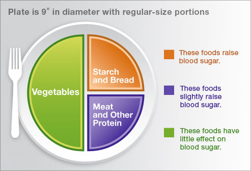 Plate Method a visual tool in diabetes control :: Diabetes Management &  Supplies
