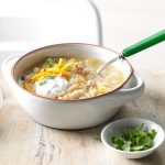 Easy White Chicken Chili Recipe {4 beans} | Healthy Fitness Meals